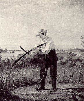 Jefferson's yoeman farmer would form the moral fiber of the new nation